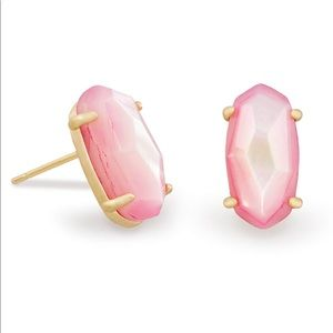 Kendra Scott Betty Stud Earrings In Blush Pearl